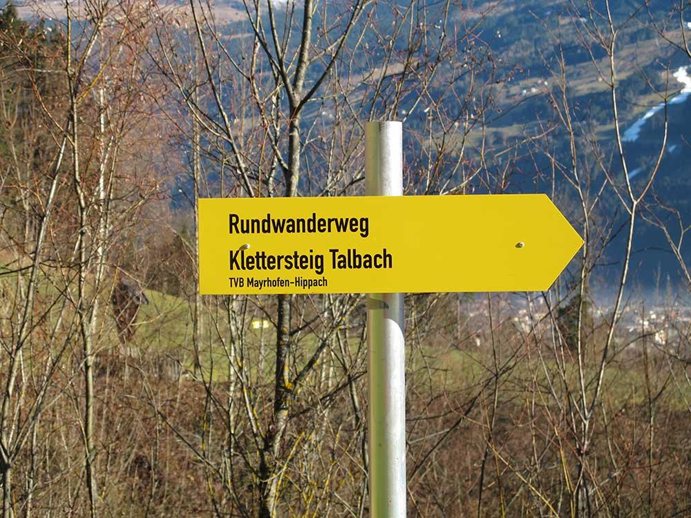 Klettersteig Talbach : Talbach m klettersteig c d alpin welt at tourentipps für das