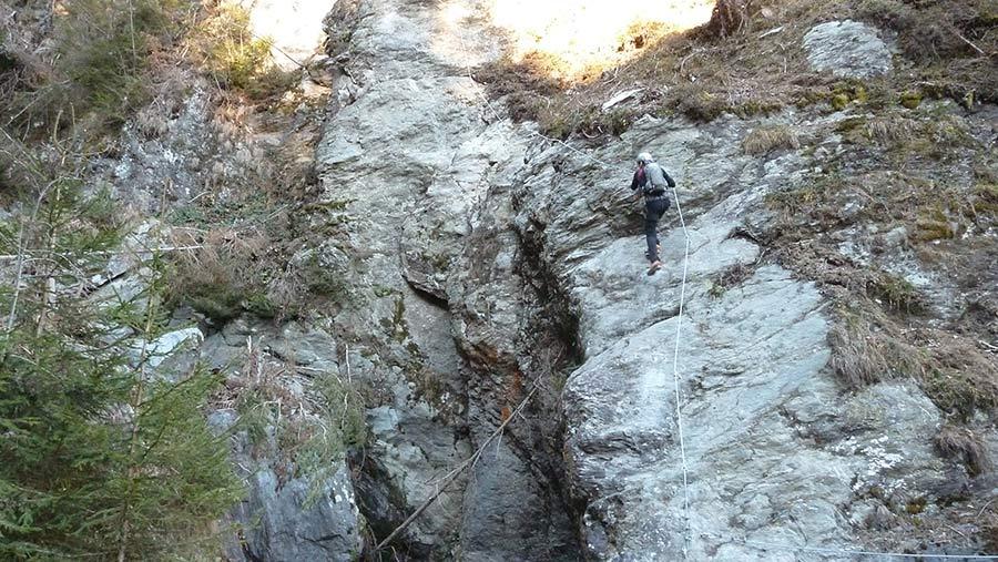 Klettersteig Talbach : Talbach klettersteig bilder headshaker
