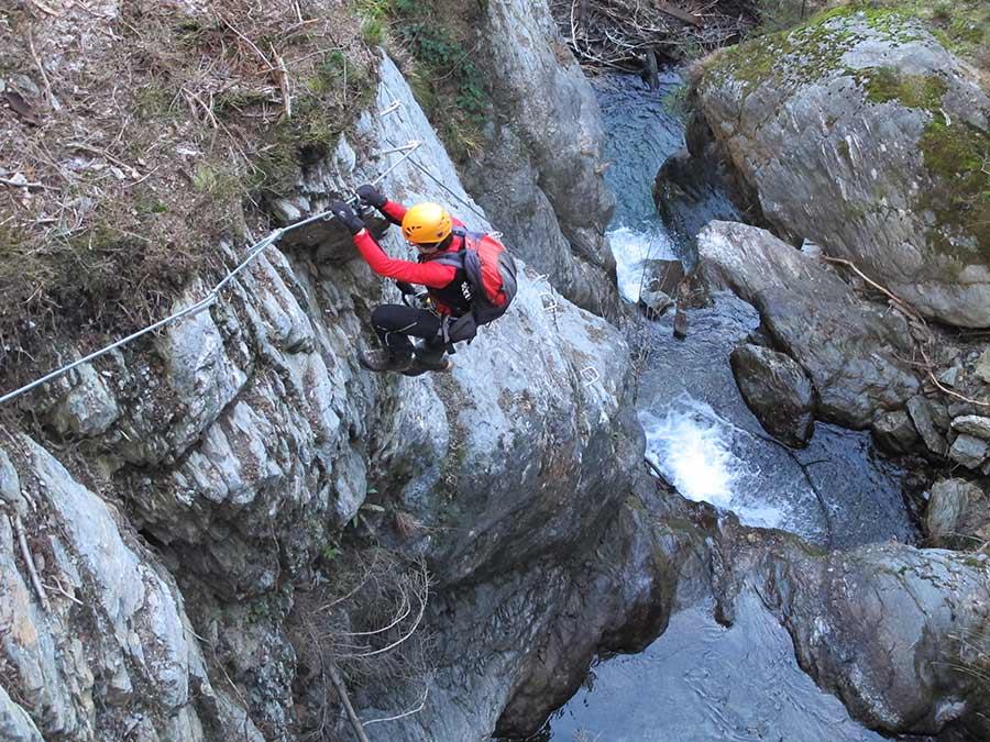 Klettersteig Talbach : T sz taubergung aus klettersteig u etalbachu c hippach