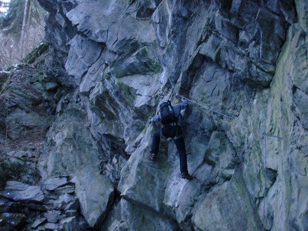 Klettersteig Zimmereben : Klettersteige mit kindern in bayern und Österreich huterlaner