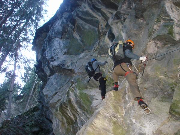 Klettersteig Zimmereben : Zimmereben klettersteig bergsteigen