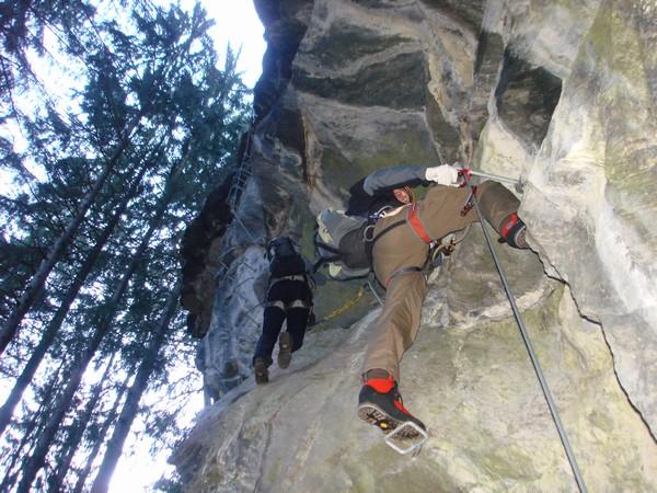 Klettersteig Zimmereben : Klettersteig zimmereben route pfeilspitzwånd super